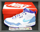 2014 DS Nike Flight 13 Mid Poison Dart Frog White Grape Blue 579961-105 US 11