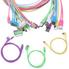 3 in 1 USB Cable 30 8 Pin & Micro B fr iPhone 3 4 iPad Samsung HTC One LG 1M 3FT