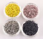 Wholesale  1000 pcs Tube Czech Glass Spacer Beads 2x8mm Jewelry Making