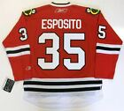 TONY ESPOSITO CHICAGO BLACKHAWKS RBK JERSEY
