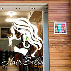 HAIR & BEAUTY SALON - Vinyl Window Sticker Hairdressers Sign Transfer