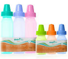 3 New Evenflo Classic TINTED bottles 8oz, BPA FREE