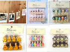 Cute Mini Wooden Clothes Photo Paper Peg Clothespin Craft Clips 35MM With Rope