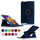 Rotating Leather Case Stand Cover for Samsung Galaxy Tab 4 8.0 8 SM-T330 Tablet
