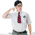 C952FW The Nerd Kit 50s Wig Teeth Glasses Mens Costume Accessory