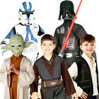 Star Wars Boys Fancy Dress Halloween Kids Costume Dress Up Ages 3,4,5,6,7,8,9,10