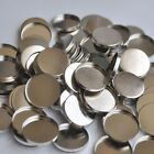 12 100pcs Empty Round Tin Pans for Eyeshadow Palette 26mm Responsive to Magnets