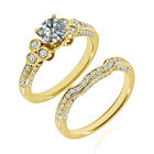 1.5 Carat G-H SI3-I1 Diamond Engagement Bridal Solitaire Ring 14K Yellow Gold