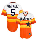 Jeff Bagwell Houston Astros 1980's Cooperstown Home Jersey Men's SZ (S-2XL)