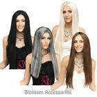 "W224 Long Lovely Locks 25"" Wig Straight Party Halloween Costume Wig"