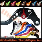 T2W CNC Adjustable Brake Clutch Levers BMW F800GS 2008-2014