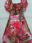 Girls Gorgeous Pink Party/ Outfit Long Length Maxi Dress, 7 -13 Yrs (SC67)