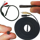 Waterproof CCTV DVR Microphone + Cable For Ooutdoor Camera Sound Audio Recording