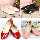 Women new Casual Candy color Loafers patent leather flat nice fashion shoes