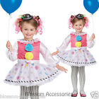 CK152 Bubbles The Clown Circus Fancy Dress Toddler Book Week Halloween Costume