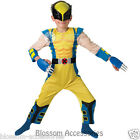 CK155 Wolverine Deluxe Hero Superhero Boys Book Week Kids Halloween Costume