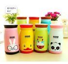 3608 Cartoon Stainless Steel Vacuum Thermal Warm Travel Mug Cup Bottle 260ML x1