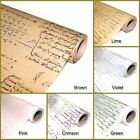 Roll Waxed paper 53cmX 18M Floristry, Gift wrapping wax paper_English lettering