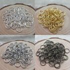 Wholesale 300/2000pc Open Metal Jumping Rings Silver/Gold Plated Finding 4/6/8mm