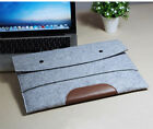 "New Woolen Felt Laptop Cover Case Sleeve Pouch Bag For 11""13""15"" Macbook Pro Air"