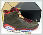 Nike Air Jordan 6 VI Championship Cigar Raw Umber Red Gold 384664-250 US 10.5
