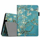 Folio Leather Case Stand Cover for 2013 Kindle Fire HD 7 3rd Gen Sleep/Wake