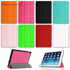 Tri-fold Slim SmartShell Case Sleep/Wake Cover for 2013 Apple iPad Air 5 5th Gen