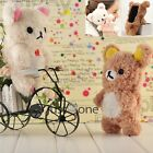 Fr iPhone5 5S 5C iPod Touch 5 Cute Little 3D Bear Cool Plush Toy Doll Case Cover