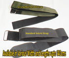 Velcro adjustable Tie Down REINFORCED with metal buckle LUGGAGE TRAVEL  STRAP