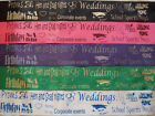Personalised Hen Party and Event Sashes Standard & Metallic Font FAST & FREE P&P