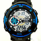OHSEN Unisex Oversized Digital LCD Alarm Date Mens Military Sport Wrist Watch S