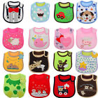 NEW Cotton Baby Infants kids bibs/ baby lunch bib/ Saliva cute towel Waterproof