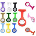 Silicone Nurse Watch Brooch Fob Tunic Quartz Movement Watch Functional Best