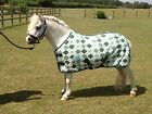 Quality Green Fleece Travel Show Rug for Horse or Pony