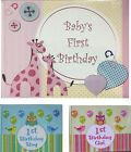 1st Birthday book - Boy/Girl Keepsake Signature Personalised Gift 30 Pages