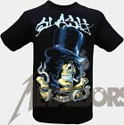 "Slash ""smoking Skull"" T-Shirt 105529 #"