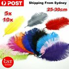 New Ostrich Feather DIY Crafts Natural 24-30cm Beautiful Wedding Party Decoratio