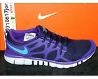 Nike Mens Free 3.0 V3 Imperial Purple Turquoise 453974-535 US 9~10.5 running 1