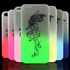 Bumper Frame With Matte Skin Glow In The Dark Case Cover for iPhone 5 5S