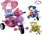 THREE WHEEL BIKE TRICYCLE SCOOTER BABY CHILD ELEPHANT TRIKE PARENT HANDLE  1