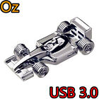 F1 Racing Car USB 3.0 Stick  Stainless Full Metal USB Flash Drives WeirdLand
