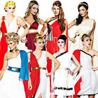 Roman Ladies Fancy Dress Anicent Greek Grecian Womens Costume Adult Outfit New
