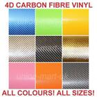 4D GLOSS CARBON FIBRE VINYL WRAP TEXTURED   1.52 METRE X RUNNING METRE  AIR FREE