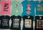 NEW JUSTICE GIRL SIZE 6 7 8 10 12 14 16 18 GRAPHIC PRINT T-SHIRTS/TOP CHOOSE ONE
