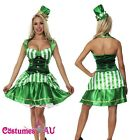Shamrock St Patrick Oktoberfest Green Irish Beer Lucky Leprechaun Costume