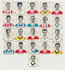 ABC Football Colours + Players : DC Thomson sports cards 1961 LIST 2