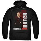 Criminal Minds TV Show CBS Hotch Adult Pull-Over Hoodie