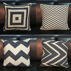 New Fashion Home Decorative Pillow Covers Room Decors Car Cushion Covers Square