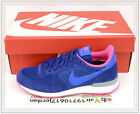 2014 Nike Wmns Internationalist Royal Blue Hyper Pink 629684-402 US 6~8.5 casual
