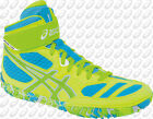 NEW Asics Aggressor 2 L.E. Mens Wrestling Shoes, Neon Blast, J402Y-0470